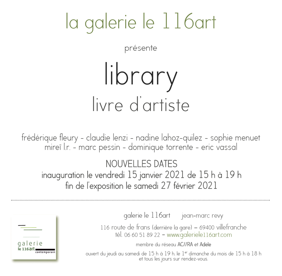 Library – Sophie Menuet et Dominique Torrente