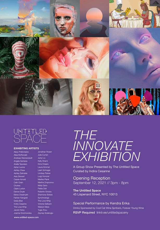The INNOVATE Exhibit with Cath orain